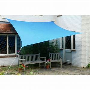 Terrasse und garten sonnenschutz ideen sonnensegel und for Markise balkon mit blaue tapeten günstig