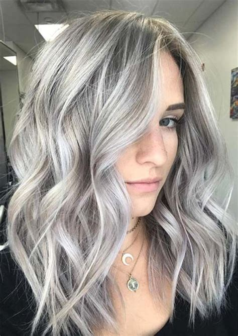 alluring medium length hairstyles haircuts  women