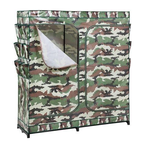 honey can do 60in door storage closet camouflage