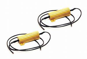 50w 6ohm 12v Resistor For Led Turn Signal Lights Or Led