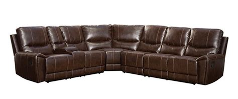 reclining sectional with cup holders information on the best leather reclining sofas in 2017
