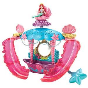 disney princess the little mermaid bath time playset