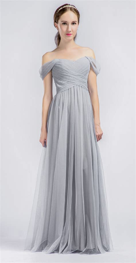 light gray bridesmaid dress top ten wedding colors for summer bridesmaid dresses 2016