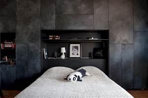 Dressing Derrière Tete De Lit : dressing t te de lit moderne chambre toulouse par ~ Premium-room.com Idées de Décoration