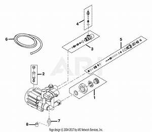 Homelite Ry80030a Gasoline Pressure Washer Parts Diagram