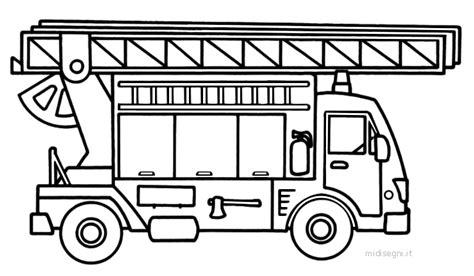 disegni da colorare camion dei pompieri disegni da colorare per bambini midisegni it