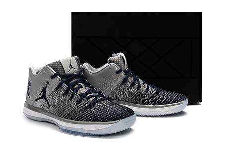 Nike Air Jordan Xxxi Low George Grey Blue White Men