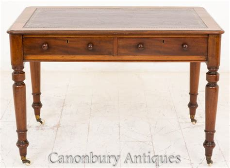 writing table desk mahogany tables bureau