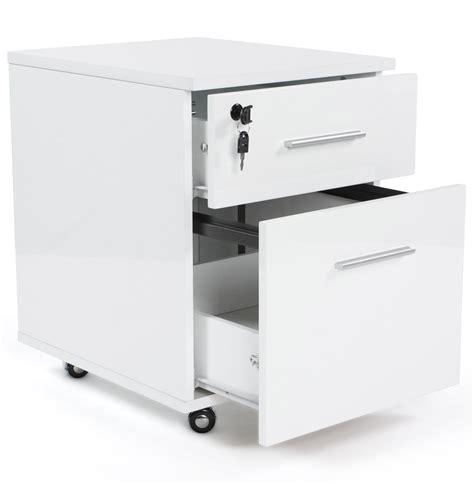 meubles de bureau bruxelles caisson de bureau kola blanc sur roulettes caissons à
