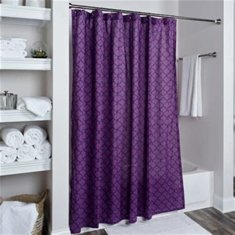 purple shower curtains buy purple shower curtains from bed bath beyond