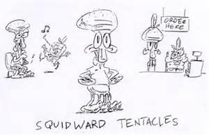 Squidward From Spongebob Drawings