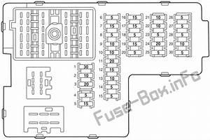 Fuse Box Diagram  U0026gt  Lincoln Aviator  Un152  2003