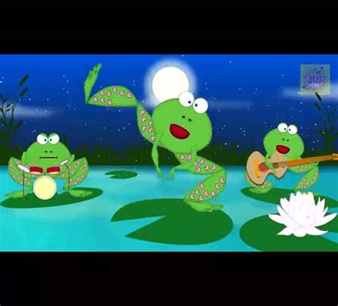 crazy frogs singing happy birthday  songs ecards