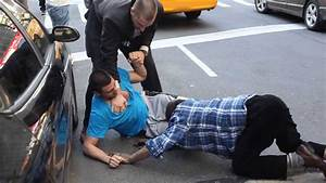 REAL New York Street fight - YouTube