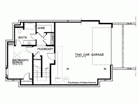 two house plans with basement house floor s with basement and craftsman house