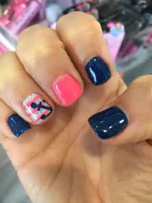 Easy summer nail art for short nails spring