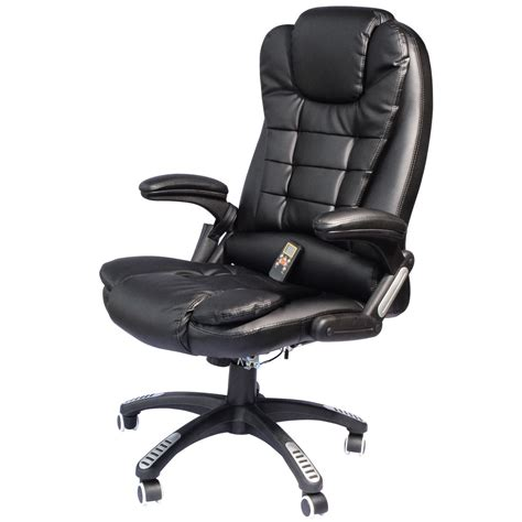 massaging chairs while executive ergonomic heated vibrating computer desk office