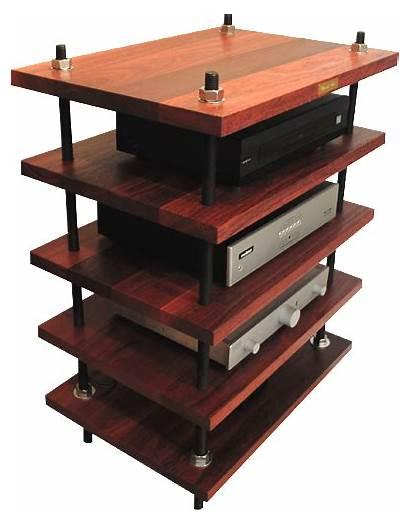 Rack Hifi Audio Stand Shelves Furniture Audiophile