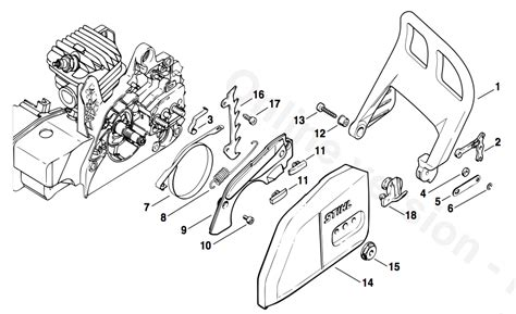 stihl spare parts diagram jidimotorco