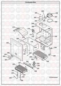 Potterton Performa 28 He System  Combustion Box  Diagram