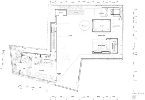 mazda showroom  suppose design office pairs streamlined glazing  wood minimal blogs