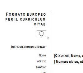 download gratis curriculum vitae europeo da compilare pdf merge curriculum vitae europeo da compilare download