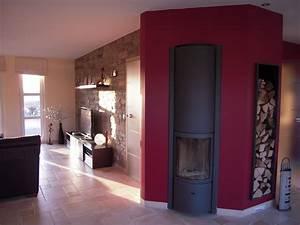 Deco Derriere Poele A Bois : living photo 4 5 3484312 ~ Melissatoandfro.com Idées de Décoration