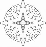 Mandala Coloring Star Shape Stars Printable Moon Mandalas Simple Sheets Mandela Popular Sun Library Clipart Doghousemusic sketch template