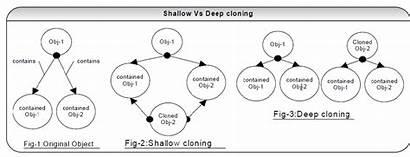 Deep Java Shallow Cloning Copy Clone Objects
