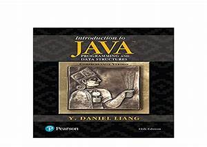 Download, P, D, F, Introduction, To, Java, Programming, And, Data, Structures, U2026