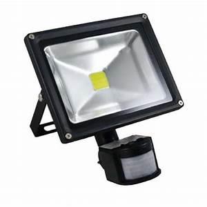 Projecteur Led Detecteur De Mouvement : projecteur led 20w avec d tecteur de mouvement electricit ~ Dailycaller-alerts.com Idées de Décoration