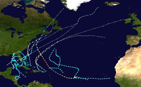 1953 Atlantic Hurricane Season Wikipedia