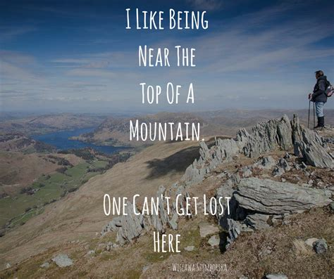 inspirational hiking quote   top   mountain