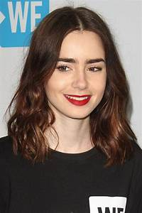 Lily Collins Hairstyles Hair Colors Steal Her Style