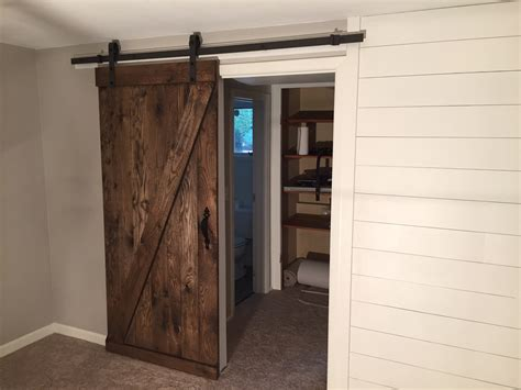 Shiplap Door by Shiplap And Barn Door Snyder Carpentry And Remodeling