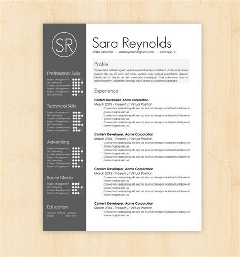 Free Resume Layout Templates by Resume Template Cv Template The Resume