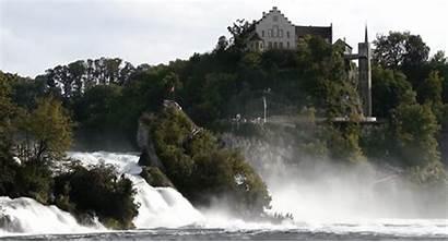 Waterfall Animated Falls Rhine Cinemagraph Gifs Waterfalls