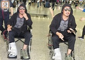 坐輪椅返港 鄭中基泰國拍戲受傷骨裂 即時新聞 東網巨星 on.cc東網