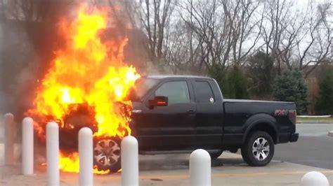 car fire ford   fx  wawa collegeville pa