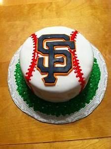 Baseball shaped SF Giants Cake | San Francisco Treats ...