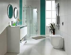 idees de deco salle de bain quels accessoires et couleurs With salle de bain design avec décoration murale libellules