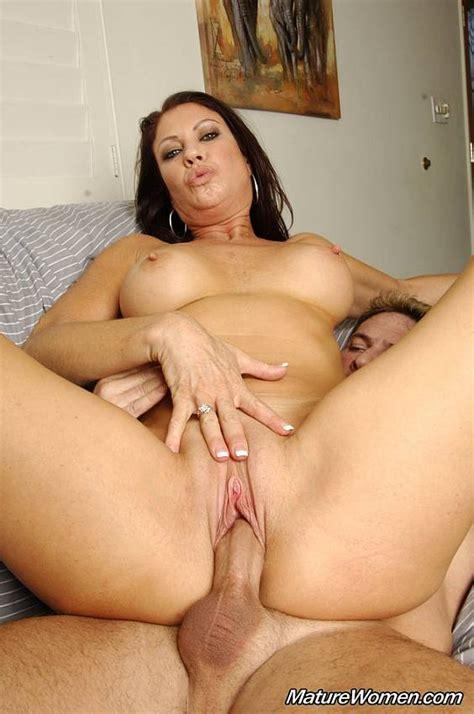 Mature Pornstar Vanessa Videl Sucking Big Dick And Getting
