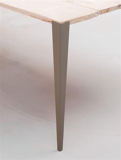 pied de bureau tol x fabricant de pieds de table et plateau en bois design