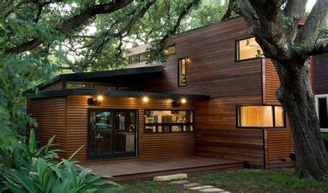 desain rumah kayu minimalis terbaik modern