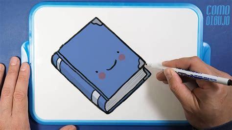 Como Dibujar y Colorear un Libro Kawaii How to Draw a