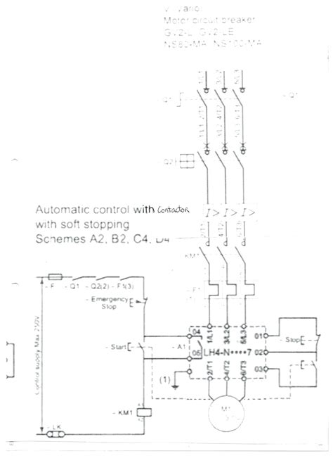 diagram motor starter circuit diagram wiring for a single