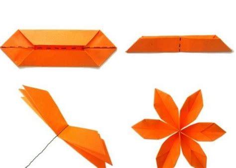 einfache origami figuren einfache origami blume selber machen schritt f 252 r schritt ich