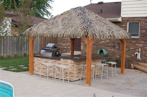 Tiki Hut Bar Kits by Tahiti Tiki Hut Kits