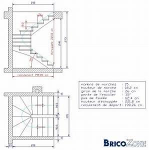 Calcul Escalier Quart Tournant : calcul escalier double quart tournant ~ Dailycaller-alerts.com Idées de Décoration