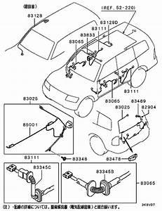 Wiring  U0026 Attaching Parts For Mitsubishi Pajero  Montero
